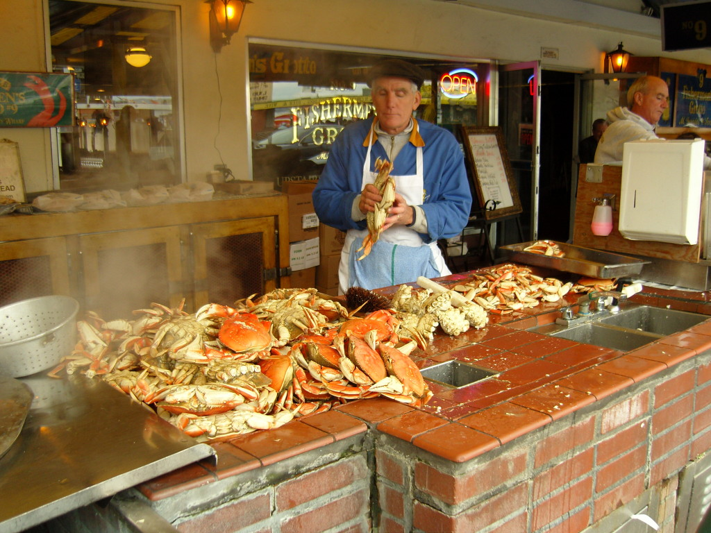 The Warf Dungeness Crab
