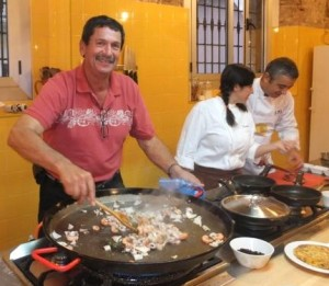a taste of spain Cooking-Class-Barcelona-2